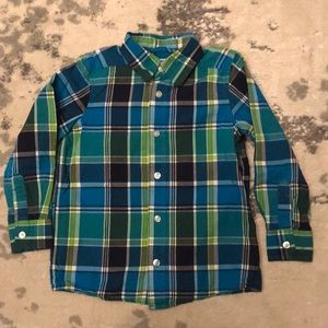Boys Children's Place button down shirt size xs 4